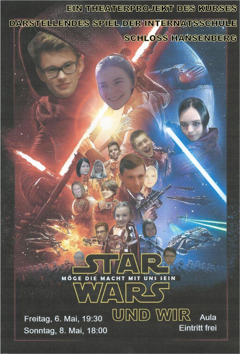 Star Wars Plakat ° Internatsschule Schloss Hansenberg